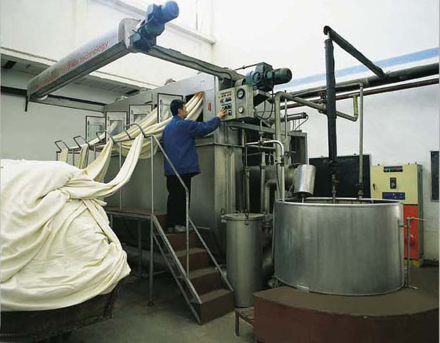 Hong Kong FONG'S overflow cloth dyeing machine