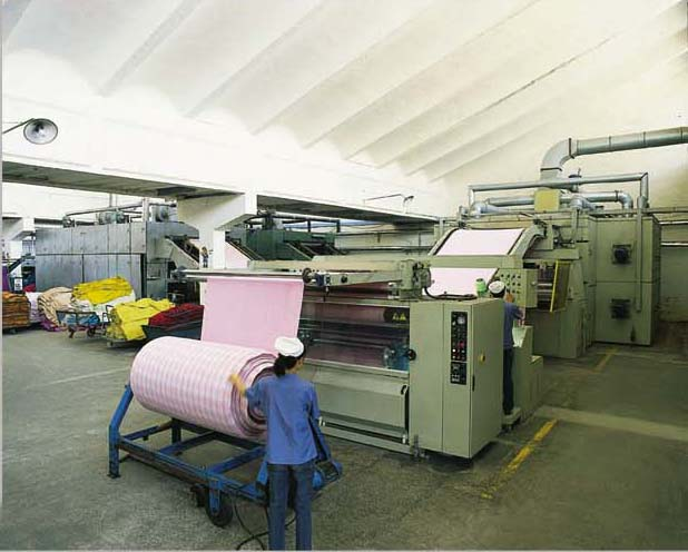 Italy SICAM tenter dryer